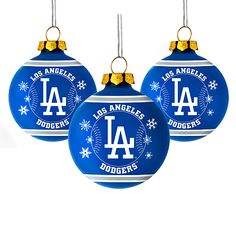 la dodgers ornaments  Yahoo Image Search Results  Christmas
