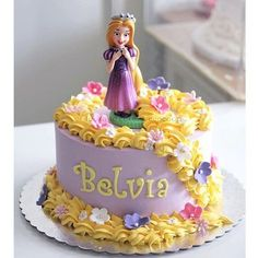The best way to appriciate someone is to imagine your life without them. #rapunzel #cake