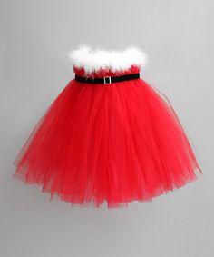 Red Santa Tutu Dress - Infant, Toddler & Girls