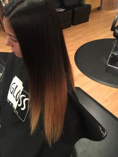 Seamless ombre