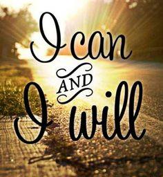 Je peux et je vais le faire.
