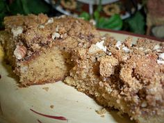 Gramma's in the kitchen: Fall-O me in to the kitchen for Overnight Coffee Cake