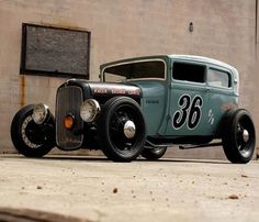 Hot rod Hot rods and Custom cars. Sometimes classic cars but mostly early hotrods and rat rods or custom cars like lowriders. Rat Rod Trucks, Rat Rods, Old Trucks, Semi Trucks, Pickup Trucks, Classic Hot Rod, Classic Cars, Hot Rod Autos, Vintage Cars