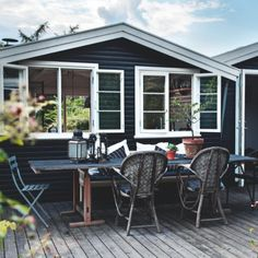 Sommerhuset i Vejby agerer prøveklud, når boligstylist Nicoline Olsen tester nye ideer. Kriterierne er funktionelt, flot og billigt.