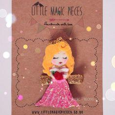 Sleeping Beauty Princess Aurora Inspired Hair por LittleMagicPieces