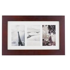 Homebase Faux Leather Photo Frame 11 Aperture Product No