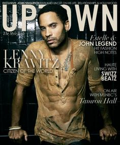 Lenny Kravitz....wet....and let me stop..