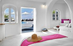 View deals for Finikia Memories Hotel. Santorini Caldera is minutes away. Breakfast and WiFi are free, and this hotel also features a bar. Santorini Caldera, Santorini Hotels, Superior Room, Outdoor Pool, Bean Bag Chair, Greece, Memories, Architecture, Decoration