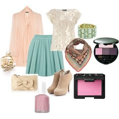 More pastels, created by mduess on Polyvore
