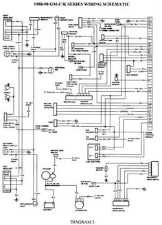 wiring diagram for 1998 chevy silverado - Google Search | 98 Chevy ...