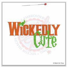 296 Halloween : Wickedly Cute 5x7