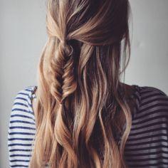 Insta-Glam Instagram: Luźna i Messy fryzurę warkocz Pomysły | Uroda Wysoka