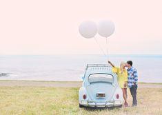 VW Bug & balloons :)