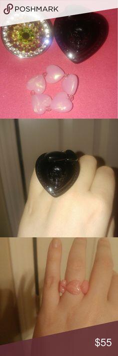 Tarina Tarantino Ring Bundle All in beautiful condition all stones in place Tarina Tarantino Jewelry Rings