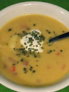 Cheesy Baked Potato Soup recipe.