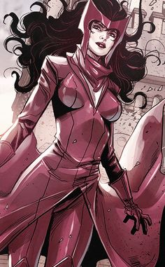 """""""Just because you know my name doesn't mean you know my game."""" - Scarlet Witch in Avengers World"""