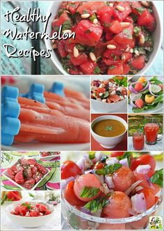Love watermelon? Then check out this healthy watermelon recipe roundup!