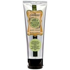 Silk Elements Shea Butter with Olive Oil Hand Cream - ranked by Pardon my French as #1 handcream.  Thick and creamy (with olive oil!) yet absorbs quickly with no residue.  CHEAP TOO!  Like $3 cheap!