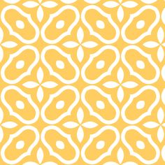 Mosaic - Sunshine fabric by inscribed_here on Spoonflower - custom fabric