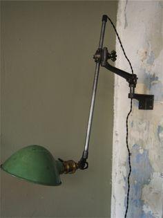 1000 images about lampe industrielle on pinterest for Fixation applique murale