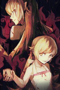 Shinobu Oshino / Kiss-Shot-Acerola-Orion-Heart-Under-Blade【Monogatari Second Season】 Otaku Anime, Lolis Anime, Anime Art, Fanart, Shinobu Oshino, Kiss Shot, Monogatari Series, Light Novel, Manga Games