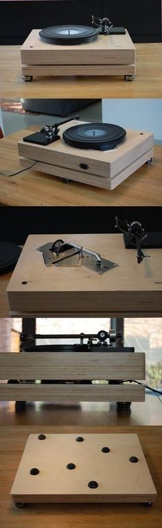 ptp5, a concept for a new plinth (page 1) - PTP based Projects - Lenco Heaven Turntable Forum