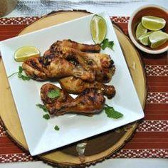 Coconut Milk Grilled Chicken