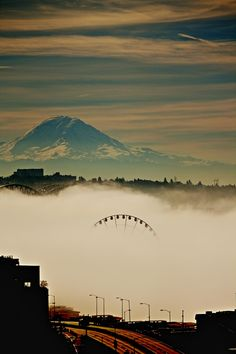 Foggy day in Seattle 2 by bmpi - Photo 48487286 - 500px