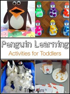 10+ Penguin Learning activities for toddlers and preK