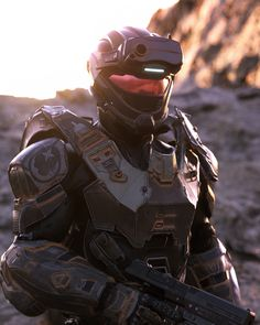 Halo Reach Spartans, Halo 5 Armor, Halo Drawings, Halo Backgrounds, Destiny Hunter, Realistic Games, Halo Series, Halo Game, Fantasy Art Landscapes