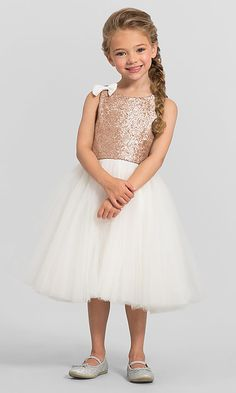 3ee8ec38b2d Image of knee-length Bari Jay flower girl dress F5616. Style  BJ-