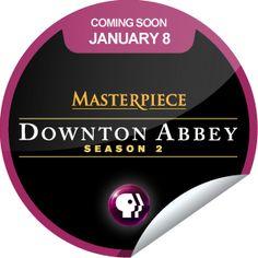 ORIGINALS BY ITALIA's #PBS #DowntonAbbey: Season 2 Coming Soon