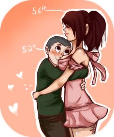 snk- Connie's fine with the height Cute Couple Comics, Couples Comics, Couple Cartoon, Tall Girl Short Guy, Tall Girls, Tall Girl Problems, Connie Springer, Romance Art, Attack On Titan Ships