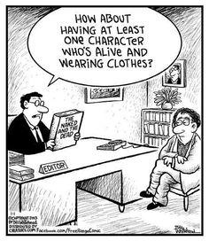 Quando l'autostima tocca livelli bassissimi è utile pensare che anche i migliori e più celebri scrittori hanno bisogno di un editor.