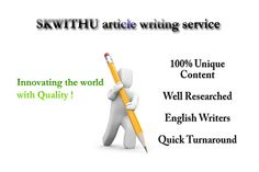 skwithu: write one 500 word article for $5, on fiverr.com