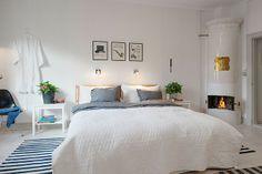 Ideas para meter color en un piso de estilo nórdico