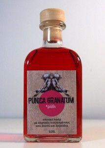 Το Φυτό Με Τη Δαγκάνα » Λικέρ Ρόδι - homemade pomegranate liqueur Pomegranate, Perfume Bottles, Granada, Pomegranates, Perfume Bottle