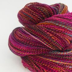 Looking for spinning project inspiration? Check out Handspun Yarn- Explosion by member BrenBoone.