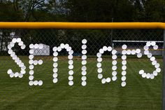 senior sport gifts | Softball Senior Night Ideas