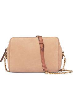 Shop on-sale Maison Margiela Suede shoulder bag. Browse other discount designer Shoulder Bags & more on The Most Fashionable Fashion Outlet, THE OUTNET.COM