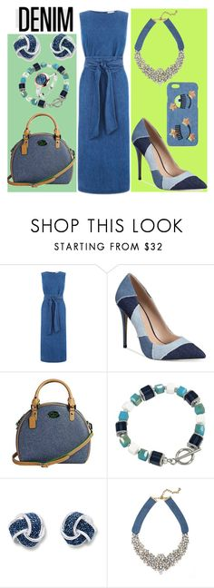 """Untitled #1622"" by moestesoh ❤ liked on Polyvore featuring Warehouse, ALDO, 3 Lily Pads, BaubleBar and Chiara Ferragni"