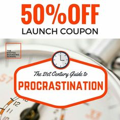 Hi friends! Have you heard? - Im now accepting students into my new @udemy Advanced 'The 21st Century Guide to Procrastination - An Action Intervention' course! Class Link in Bio  Join me here now for 50% off: Receive a 50% launch discount off the launch price of $50 for my new course. I appreciate your support and happy learning!  The quality course includes:  2 hours on-demand video 3 Supplemental Resources Full lifetime access Access on mobile and TV Certificate of Completion  At the… Appreciate Your Support, I Appreciate You, Certificate Of Completion, Competitor Analysis, 21st Century, Physics, Counter, Product Launch, Physique