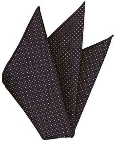 Macclesfield Printed Silk Pocket Square #170