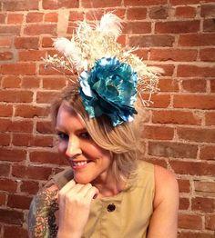Kentucky Derby Hat, Bridal hat, Church hats, Melbourne cup hat, Women's tea party, Wedding, fascinator, Formal hat, Royal Ascott, Cocktail