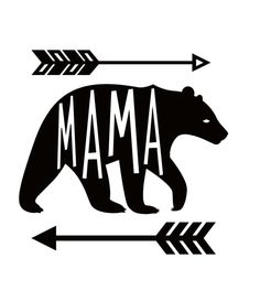 Mama Bear iron on vinyl trasnsfer for shirt,bag, etc by PiecesOfHart on Etsy https://www.etsy.com/listing/271054513/mama-bear-iron-on-vinyl-trasnsfer-for