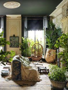 Quand New York rencontre Venise, quand le rococo rencontre le bobo, quand le luxe rencontre la récup, quand les genres se mélangent subtilement, quand les époques se rencontrent, que les plantes enva