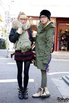 Tokyo Fashion - www.nipponterest.com  #winter