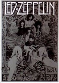 1000 images about woodstock era on pinterest woodstock hippie style and classic rock for Led zeppelin madison square garden