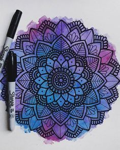 Arts And Crafts Videos Info: 4239317083 Mandala Doodle, Mandala Art Lesson, Mandala Artwork, Mandala Painting, Mandala Drawing, Mandala Sketch, Doodle Art Drawing, Zentangle Drawings, Dibujos Zentangle Art