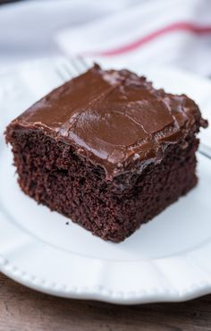 Here's for you the deliciously awesome One Bowl Chocolate Cake. So just go and grab this recipe now!